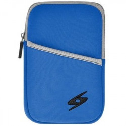 Amzer - 92914 - Amzer Carrying Case (Sleeve) for 8 Tablet, Cable, Headphone, Charger - Ocean - Water Resistant, Bump Resistant, Scratch Resistant, Dust Resistant - Neoprene
