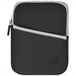 Amzer - 93061 - Amzer Carrying Case (Sleeve) for 10.3 iPad, Cable, Headphone, Charger - Black - Water Resistant, Bump Resistant, Scratch Resistant, Dust Resistant - Neoprene