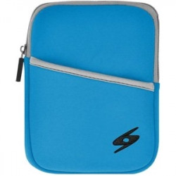 Amzer - 93062 - Amzer Carrying Case (Sleeve) for 10.3 iPad, Cable, Headphone, Charger - Ocean - Water Resistant, Bump Resistant, Scratch Resistant, Dust Resistant - Neoprene