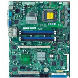 Supermicro - MBD-PDSMI-LN4-O - Retail, Up Dual Core Xeon 3000, P4/pd Dual Core, 8gb Ddr2667/533 Unbuffered Ecc,