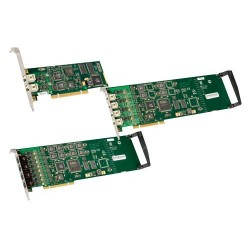 Dialogic - 306-386 - Dialogic Diva 306-386 Voice Board - PCI Express x Network (RJ-45) - 2 x Phone Line (RJ-11) - T-carrier/E-carrier/ISDN - Plug-in Card