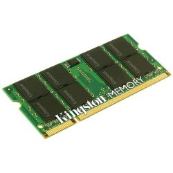 Kingston - KTH-ZD8000C6/1G - Kingston 1GB DDR2 SDRAM Memory Module - 1GB (1 x 1GB) - 800MHz DDR2-800/PC2-6400 - DDR2 SDRAM - 200-pin SoDIMM