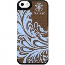 Allsop - 30842 - Gaiam iPhone 5/5S Blue Watercress Fabric Case - iPhone 5, iPhone 5S - Blue Watercress - Fabric