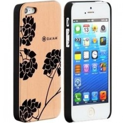 Allsop - 30782 - Gaiam iPhone 5 Wood Case - Hydrangea - iPhone 5 - Hydrangea - Maple Wood, Acrylonitrile Butadiene Styrene (ABS)