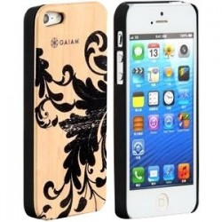 Allsop - 30781 - Gaiam iPhone 5 Wood Case - Filigree - iPhone 5 - Filigree - Maple Wood, Acrylonitrile Butadiene Styrene (ABS)