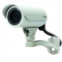 Toshiba - IK-WB70A - Toshiba IK-WB70A IP Bullet Camera - Color - CMOS - Cable