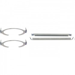 Kramer Electronics - SKIC-6 - Suspended Ceiling Speaker Mounting Kit for Galil 6-CO