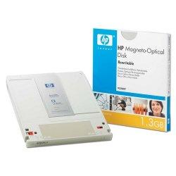 "Hewlett Packard (HP) - 92280T - HP 5.25"" Magneto Optical Media - 1.30 GB - 5.25"" - 2x - Rewritable - 1 KB per sector"