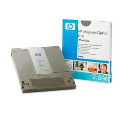 "Hewlett Packard (HP) - 92290F - HP 5.25"" Magneto Optical Media - 2.60 GB - 5.25"" - 4x - WORM - 1 KB per sector"