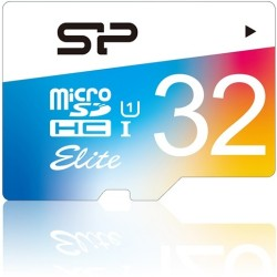 Silicon Power - SP032GBSTHBU1V20SP - Silicon Power Elite 32 GB microSDHC - Class 10/UHS-I (U1) - 85 MB/s Read