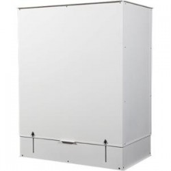 APC / Schneider Electric - AR7751W - APC by Schneider Electric VED for 600mm Wide Short Range /Vertical Exhaust Duct Kit for SX Enclosure White - Rack-mountable - White