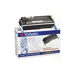 Verbatim / Smartdisk - 94956 - Verbatim Remanufactured Laser Toner Cartridge alternative for HP C9720A Black - Black - Laser - 9000 Page - 1 Each