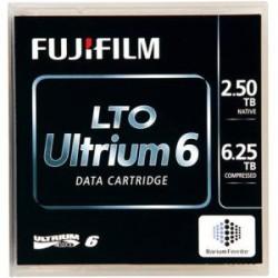 Fujifilm - 81110000980 - Fujifilm LTO Ultrium-6 Data Cartridge - LTO-6 - 2.50 TB (Native) / 6.25 TB (Compressed) - 2775.59 ft Tape Length
