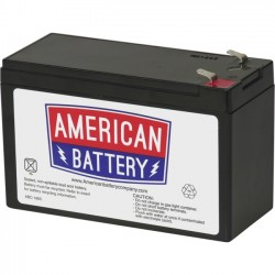 APC / Schneider Electric - 821-12-9-T2 - ABC UPS Replacement Battery - 9000 mAh - 12 V DC - Lead Acid - Maintenance-free/Sealed