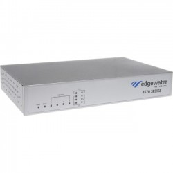Edgewater Networks - 4571-102-0015 - Edgewater EdgeMarc 4571 Enterprise Session Border Controller - 5 x RJ-45 - 6 x FXS - 2 x FXO - USB - Management Port - Fast Ethernet - T-carrier - Desktop