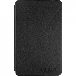 Amazon.com - B00KQE422M - Amazon Carrying Case (Folio) for Tablet - Black - Leather - 4.2 Height x 6.8 Width x 0.6 Depth