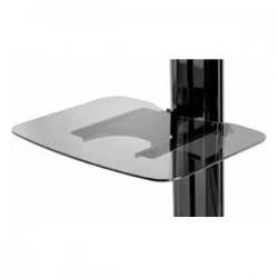 Peerless - ACC-GS1 - Peerless-AV SmartMount Tempered Glass Shelf - For Peerless-AV Carts or Stands