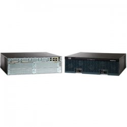 Cisco - C3925-VSEC-SRE/K9 - Cisco 3925 Integrated Services Router - 3 Ports - Management Port - 15 Slots - Gigabit Ethernet - 3U - Rack-mountable