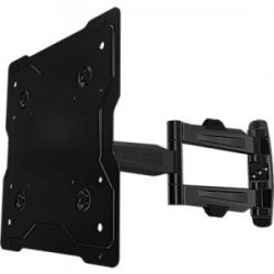 Crimson AV - A40 - Crimson AV A40 Mounting Arm - 13 to 40 Screen Support - 80 lb Load Capacity - Aluminum, Cold Rolled Steel - Black