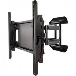 Crimson AV - A46F - Crimson AV A46F Mounting Arm - 26 to 46 Screen Support - 100 lb Load Capacity - Aluminum, Cold Rolled Steel - Black