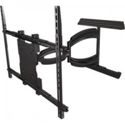 Crimson AV - A55 - Crimson AV A55 Mounting Arm - 37 to 55 Screen Support - 150 lb Load Capacity - Aluminum, Cold Rolled Steel - Black