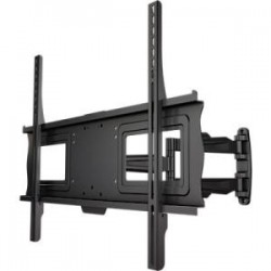 Crimson AV - A60U - Crimson AV A60U Mounting Arm for LCD Display - 37 to 60 Screen Support - 80 lb Load Capacity - Aluminum, Cold Rolled Steel - Black