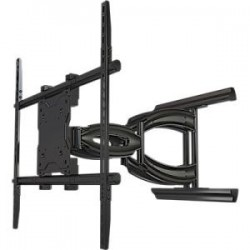 Crimson AV - A65 - Crimson AV A65 Mounting Arm - 37 to 65 Screen Support - 200 lb Load Capacity - Aluminum, Cold Rolled Steel - Black