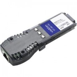 AddOn - AGM721T-AO - AddOn Netgear AGM721T Compatible TAA Compliant 1000Base-TX GBIC Transceiver (Copper, 100m, RJ-45) - 100% compatible and guaranteed to work