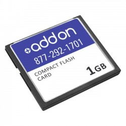 AddOn - JX-CF-1G-S-AO - AddOn Juniper Networks JX-CF-1G-S Compatible 1GB Factory Original Compact Flash - 100% compatible and guaranteed to work