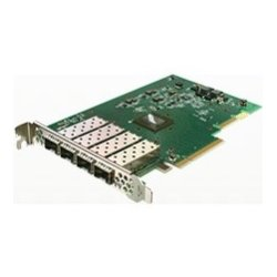 Solarflare - SFN7004F - Solarflare Flareon SFN7004F Quad-Port 10GbE PCIe 3.0 Server I/O Adapter - PCI Express 3.0 - 4 Port(s) - Optical Fiber