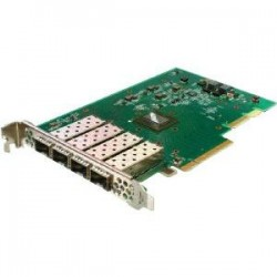 Solarflare - SFN7124F - Solarflare Flareon Ultra SFN7124F Quad-Port 10GbE PCIe 3.0 Server I/O Adapter - PCI Express 3.0 - 4 Port(s) - Optical Fiber