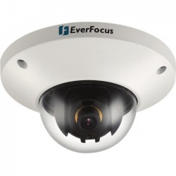 Everfocus - EDN228/3 - EverFocus EDN228 2 Megapixel Network Camera - Color, Monochrome - Motion JPEG, MPEG-4, H.264 - 1920 x 1080 - 3.60 mm - CMOS - Cable - Dome - Wall Mount, Ceiling Mount