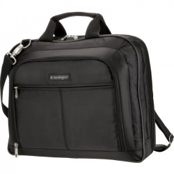 Kensington - K62563USB - Kensington Simply Portable K62563USB Carrying Case for 15.6 Notebook - Black - Handle, Shoulder Strap, Trolley Strap - 16 Height x 16 Width x 3 Depth