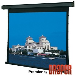 Draper - 101689L - Draper Premier Electric Projection Screen - 193 - 16:9 - Wall/Ceiling Mount - 94.5 x 168 - Matt White XT1000V