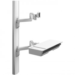 Humanscale - V647-0707-20000 - Humanscale ViewPoint Wall Mount for Flat Panel Display