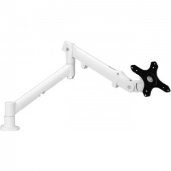 Atdec - SSKW - Systema SSKW Desk Mount for Monitor - 17.60 lb Load Capacity - Steel, Aluminum, Plastic - White