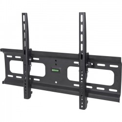 IC Intracom - 424752 - Manhattan Universal Flat-Panel TV Tilting Wall Mount - 37 to 70 Screen Support - 165 lb Load Capacity - Steel - Black - Meets VESA Standards - UL Listed