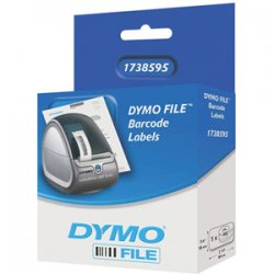 DYMO - 1738595 - Dymo File Document Management Labels - 3/4 Width x 2 1/2 Length - Direct Thermal - White - 450 / Roll - 450 / Roll