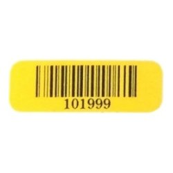 Dynamic Systems - BCL-TRLP6 - Dynamic Systems Asset Barcode Labels - Permanent Adhesive