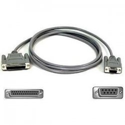 Belkin / Linksys - F2L089-01 - Belkin AT Serial Adapter - DB-25 Female, DB-9 Female - 1ft