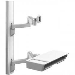 Humanscale - V637-0707-20000 - Humanscale ViewPoint Wall Mount for Flat Panel Display