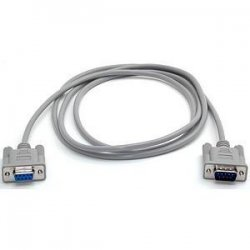 StarTech - MXT10010 - StarTech.com 10 ft Straight Through Serial Cable - M/F - DB-9 Male Serial - DB-9 Female Serial - 10ft - Gray