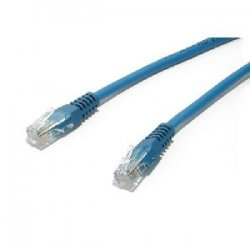 StarTech - M45PATCH5BL - StarTech.com 5 ft Blue Molded Cat5e UTP Patch Cable - Category 5e - 5 ft - 1 x RJ-45 Male - 1 x RJ-45 Male - Blue