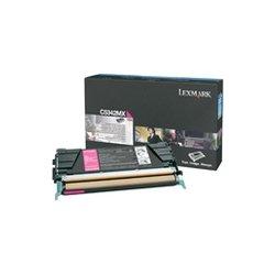 Lexmark - C5342MX - Lexmark High Capacity Magenta Toner Cartridge - Laser - 7000 Page - Magenta