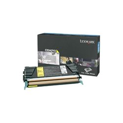 Lexmark - C5342YX - Lexmark High Capacity Yellow Toner Cartridge - Laser - 7000 Page - Yellow