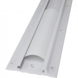 Ergotron - 31-018-216 - Ergotron Wall Mount Track for Workstation - Aluminum - White