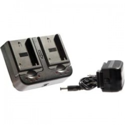 ikan - ICH-DUAL-S - ikan Dual Sony L Series Battery Compatible Charger - AC Plug - 2