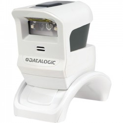 Datalogic - GPS4421-WHK1B - Datalogic Gryphon GPS4400 Desktop Barcode Scanner - Cable Connectivity1D, 2D - White