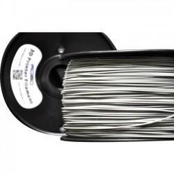 Robo 3D - ABSSILVER - ROBO 3D Platinum Silver ABS - Platinum Silver - 68.9 mil Filament