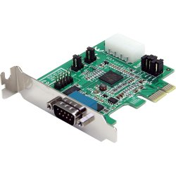 StarTech - PEX2S952LP - StarTech.com 2 Port Low Profile Native RS232 PCI Express Serial Card with 16950 UART - 2 x 9-pin DB-9 Male RS-232 Serial